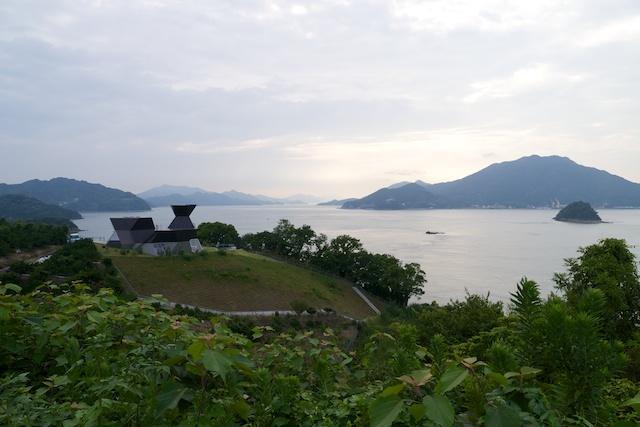 伊東豊雄建築ミュージアム 風景