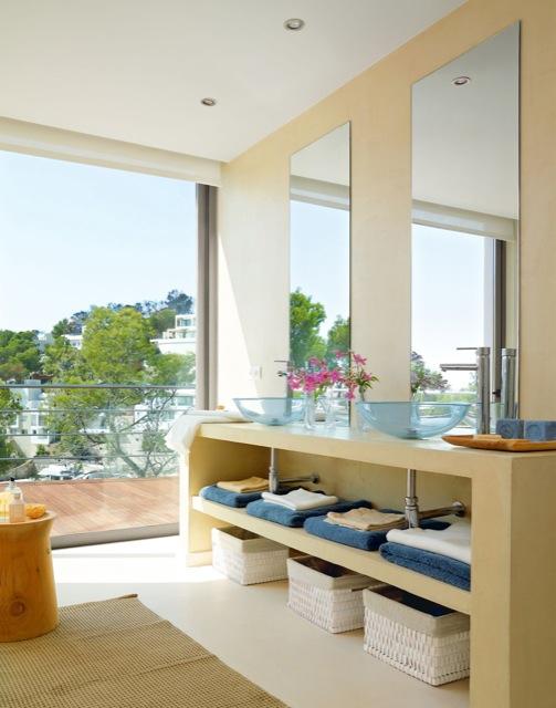 lavamanos de cristal