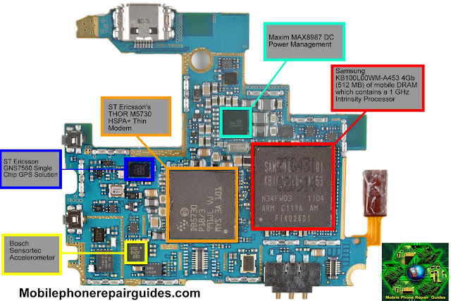 All Tested Solution  Samsung Galaxy S 4g Front Pcb