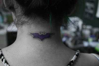 Small Batman Tattoos