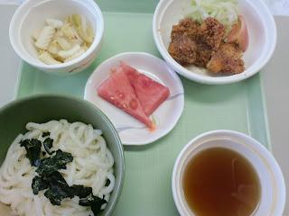 写真:パルス入院3クール6日目の昼食