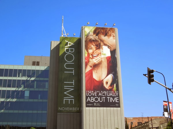 Giant About Time movie billboard
