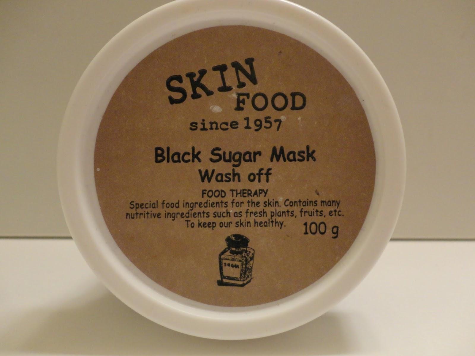 Lin Hime Review Skinfood Black Sugar Mask Skin Food Honey Wash Off 100gr