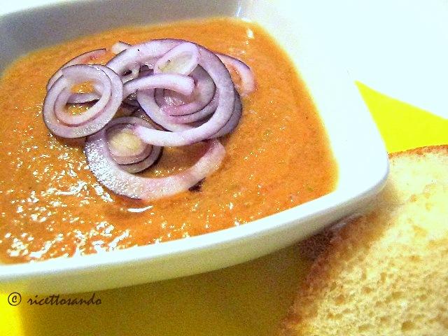 Gazpacho andaluso ricetta estiva