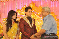 Celebraties at Actor Bharat n Jessy Wedding Reception Photos+%252849%2529 Actor Bharath n Jessy Wedding Photos