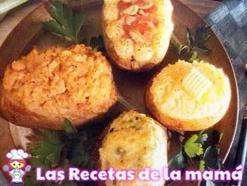 Patatas rellenas especiales
