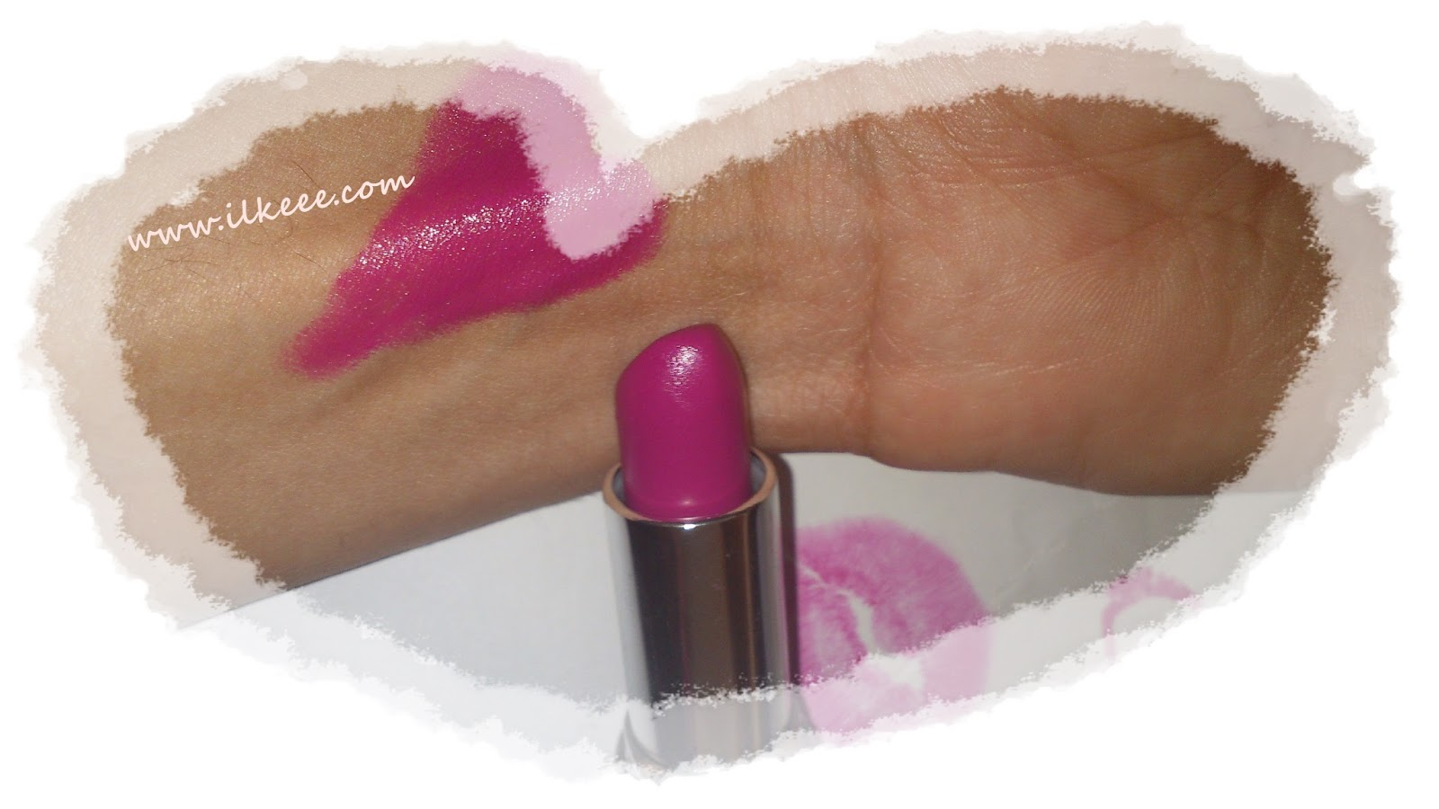 Avon - Avon Bold Ruj - Ultra Colour Bold Ruj - Hi-Def Plum - Bold Ruj Kullananlar - Mat ve Parlak Bitişli Ruj - Kremsi Ruj - Hi def plum swatch
