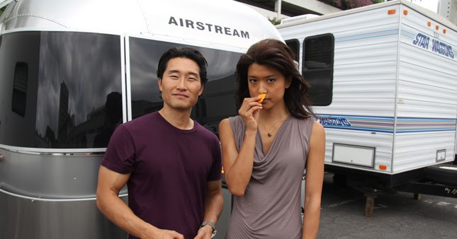 Daniel Dae Kim & Grace Park | Hawaii Five-0 2010 - Alex O ...