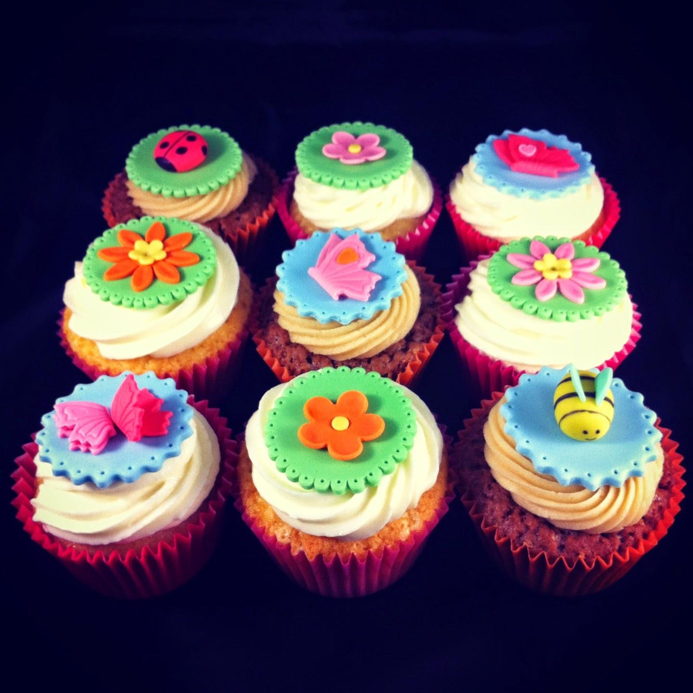 cupcake api farfalle fiori coccinelle