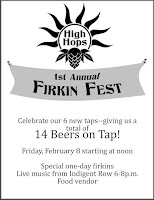 High Hops Firkin Fest