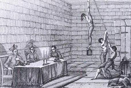 los instrumentos de tortura: