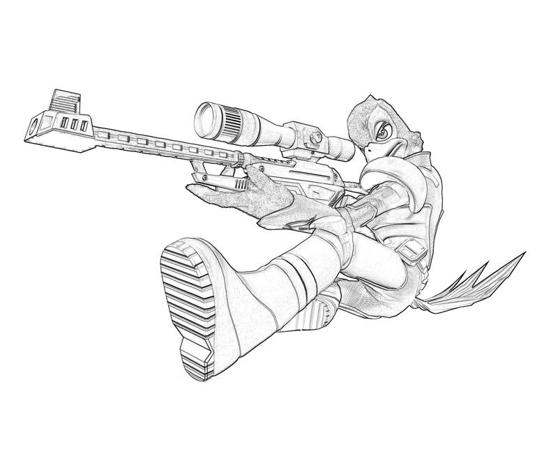 sniper coloring pages - photo#8