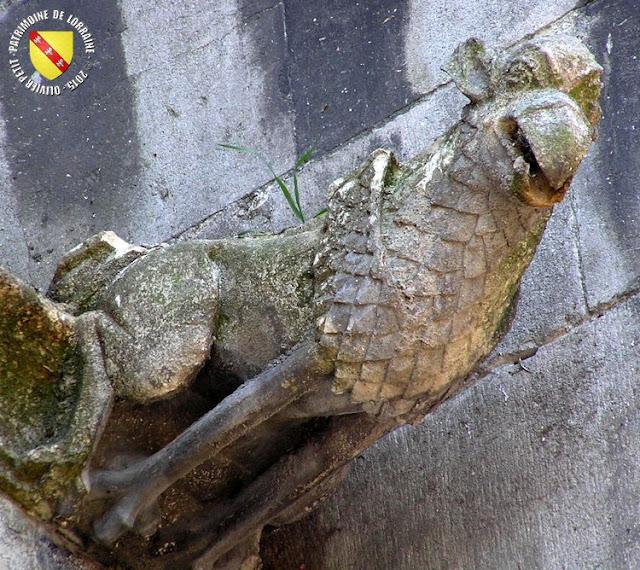SAINT-NICOLAS-DE-PORT (54) - Basilique Saint-Nicolas (Extérieur - Gargouilles)