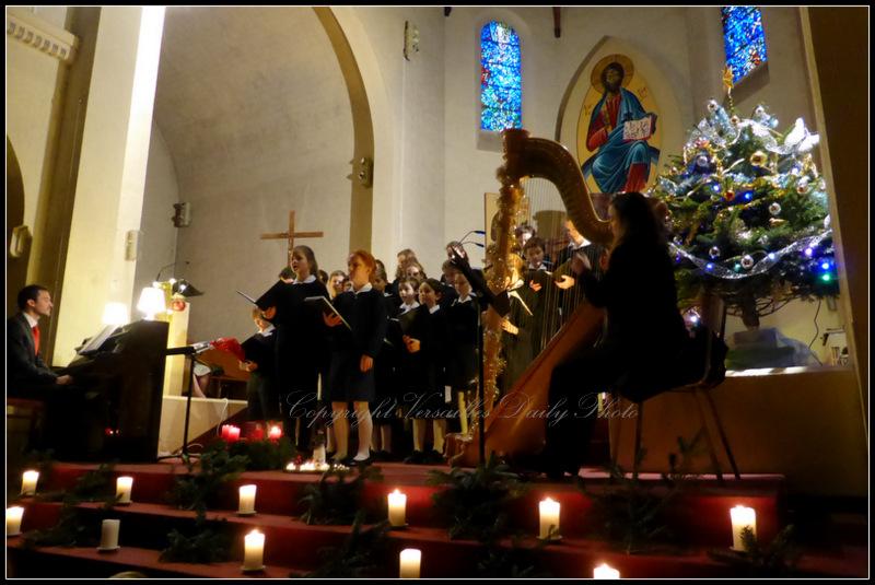 Christmas concert Versailles St Joseph