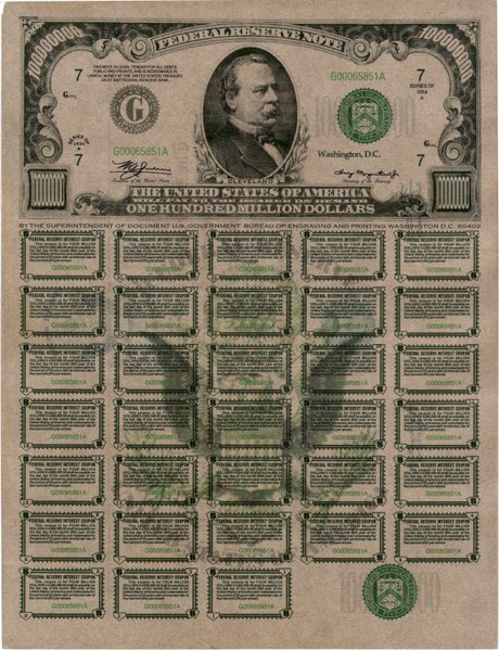 Us treasury bond coupons