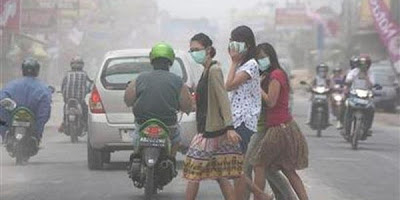 Menghindari Polusi Udara Dengan Masker Debu