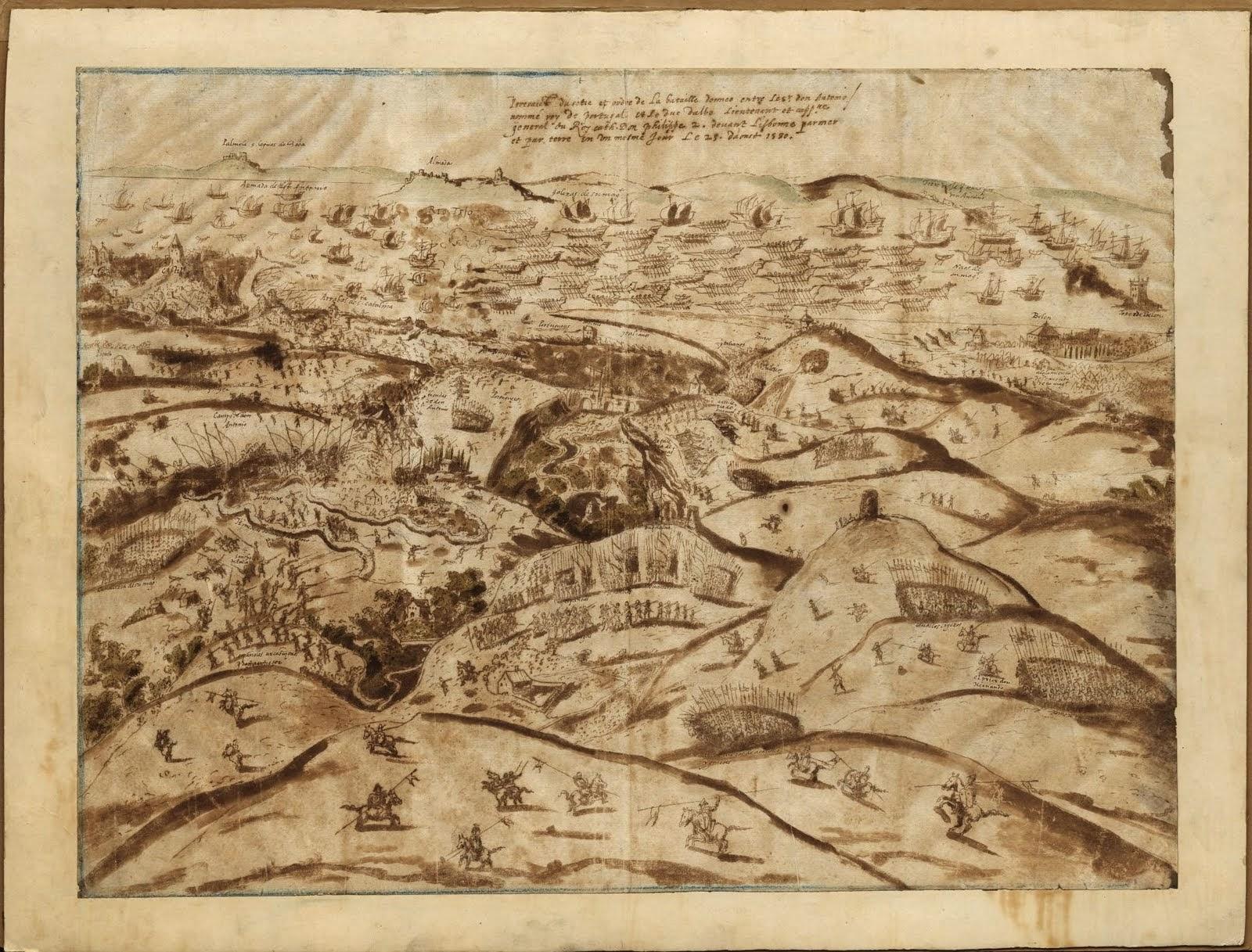 1580 Bataille d'Alcantara