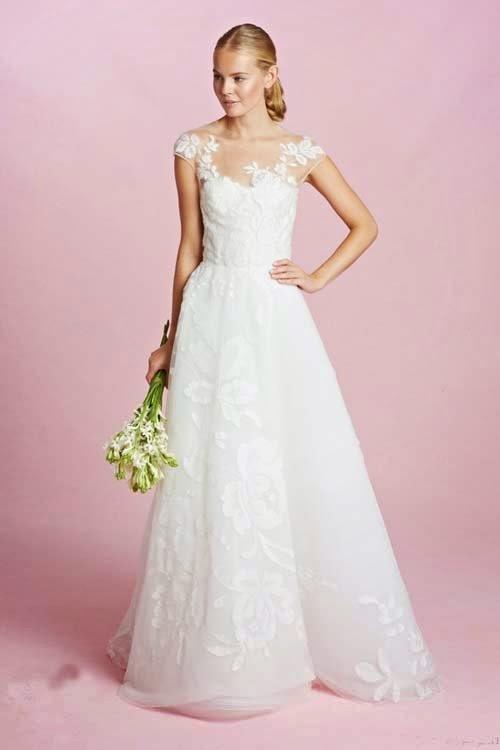 2015 Fall Wedding Dresses by Oscar de la Renta
