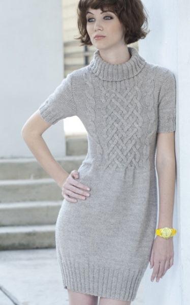 Финское платье с коротким рукавом | gl012