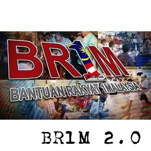 BR1M 2.0 bantuan rakyat 1Malaysia online tarikh panduan cara daftar