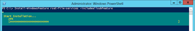 Installing cluster services in windows server 2012 using powershell