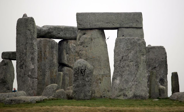 Stonehenge Images -Gray Skies at Stonehenge