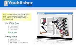 Youblisher - Сервис для создания онлайн каталогов