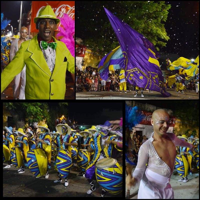 Carnaval. Desfile de Llamadas. La Dominó  .