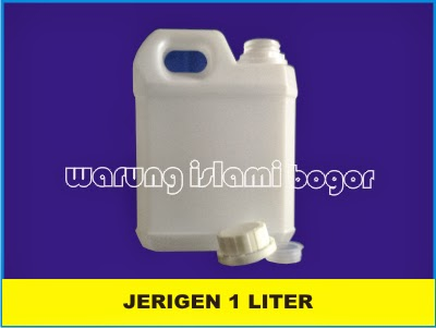 Jual Jerigen Plastik 1 Liter  Pendek Taiwan