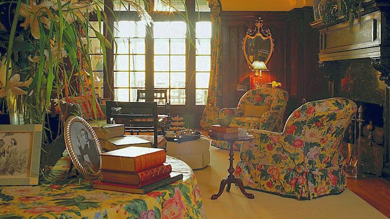 Interior English retro style