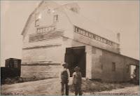 Lindahl grain barns, Agenda, Kansas