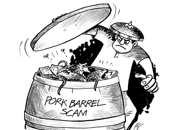 p10 b pork barrel scam a reflection The bangko sentral ng pilipinas (bsp) has revoked the license of two foreign  exchange dealers linked to the p10-billion pork barrel scam.