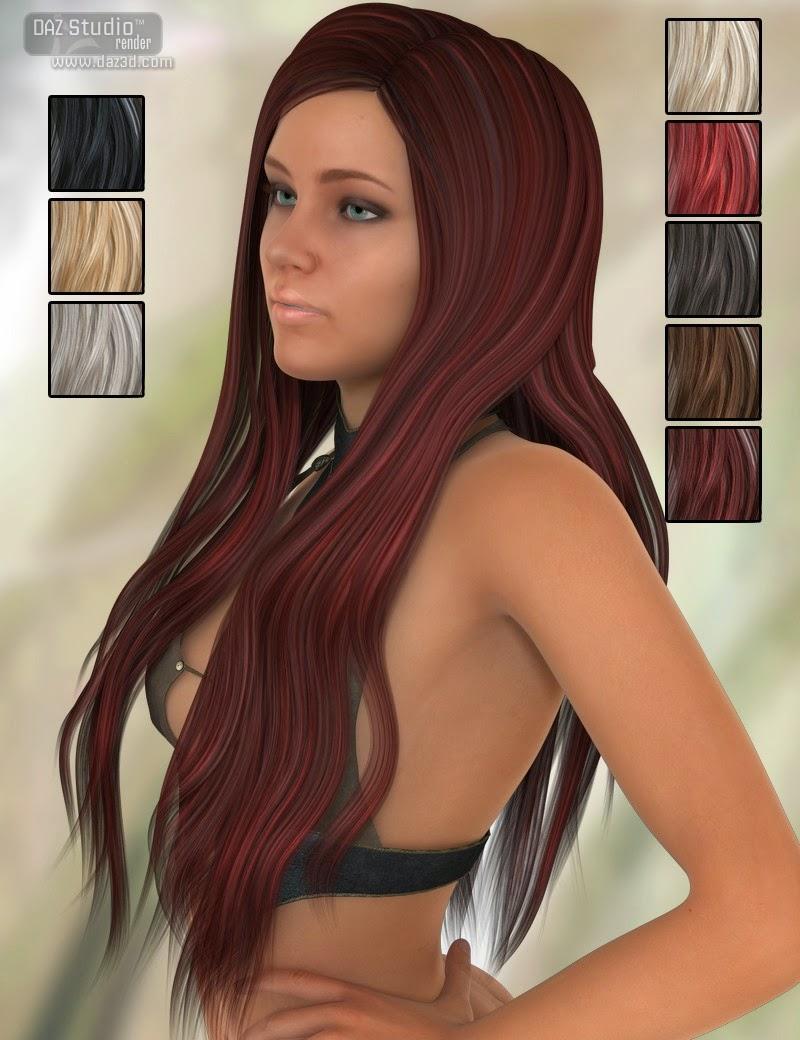 Cheveux tentatrice