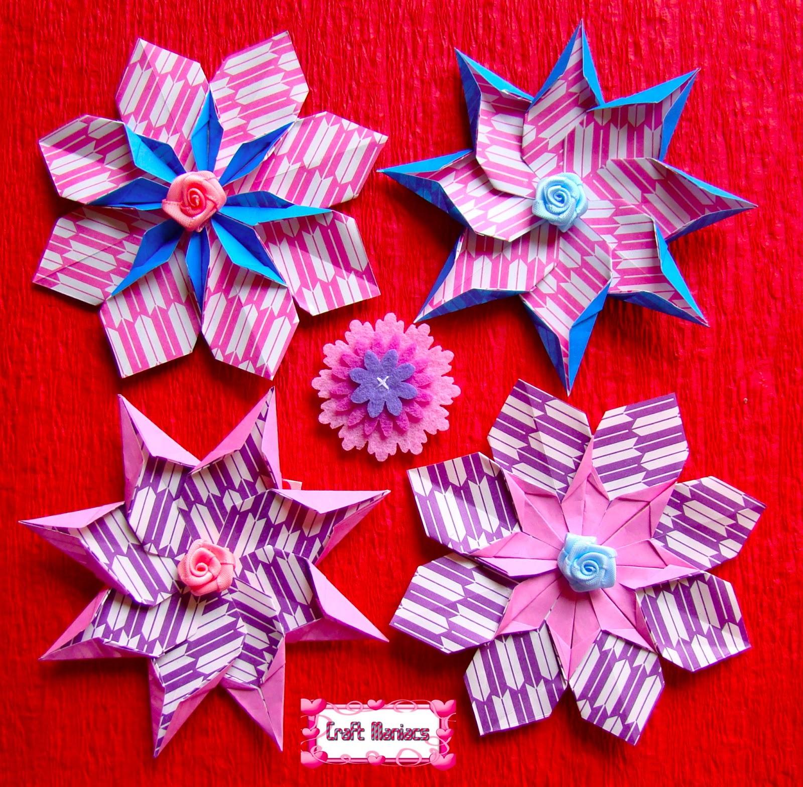 Bella and Bellatrix Mandalas | Origami Maniacs Photo Gallery