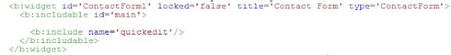 menghapus contact form di sidebar blogspot, menghilangkan form kontak di sidebar blogger