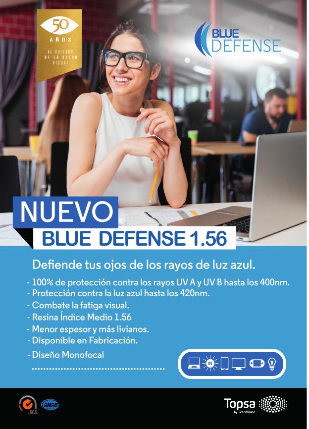 TOPSA NUEVO BLUE DEFENSE 1.56