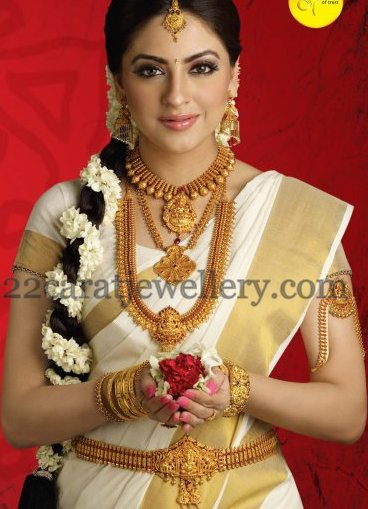 Traditional Lakshmi Jewellery