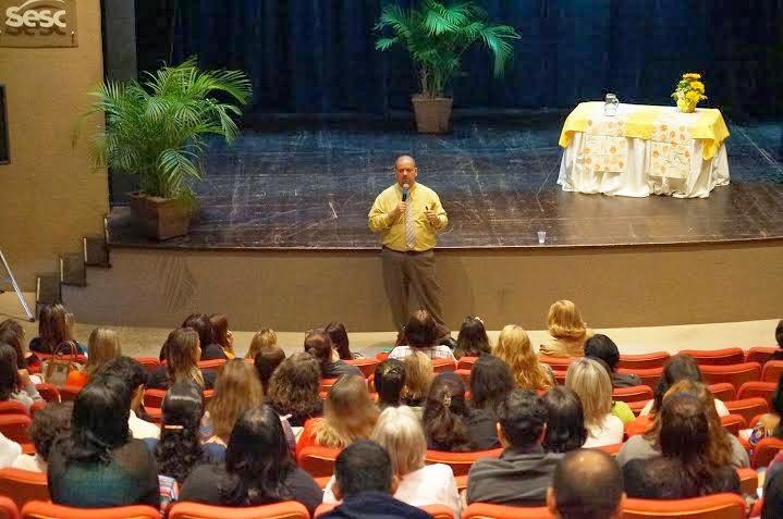 Professor Victor Santos fala sobre a eficiência da aprendizagem no Sesc