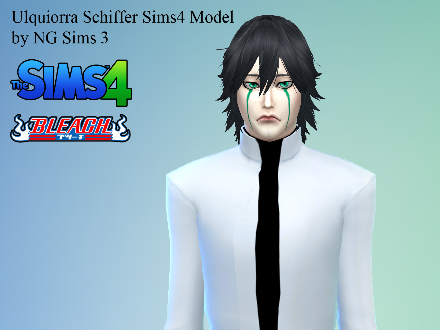 Sims 4 Anime Characters : Ng sims ulquiorra schiffer ts anime model