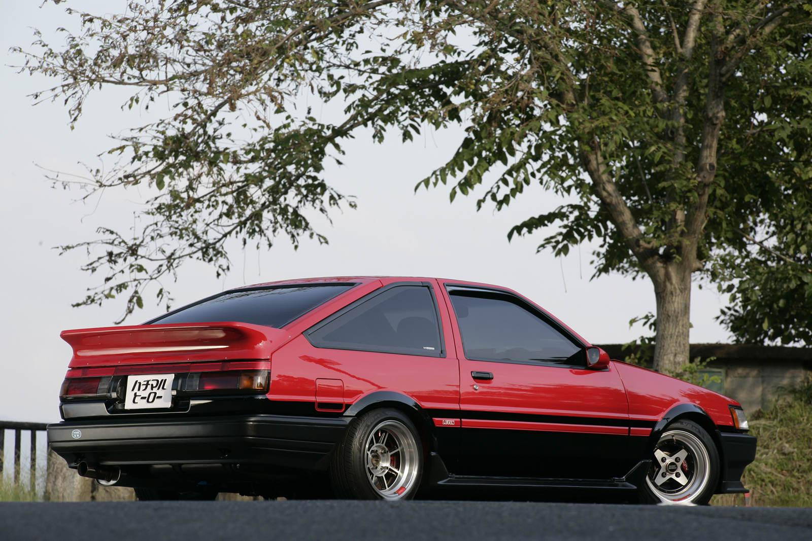 Hachi-Roku, sportowy samochód, JDM, Toyota, Corolla Levin, Sprinter Trueno, galeria