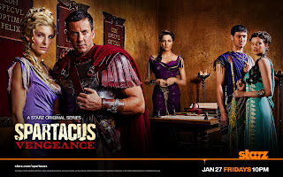 Spartacus New Episode Vengeance Characters HD Wallpaper