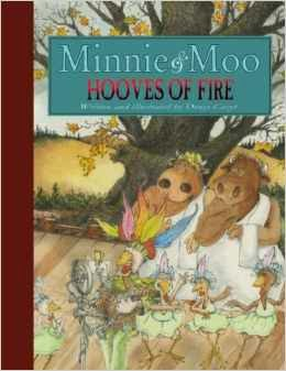 Minnie & Moo: Hooves of Fire  cover