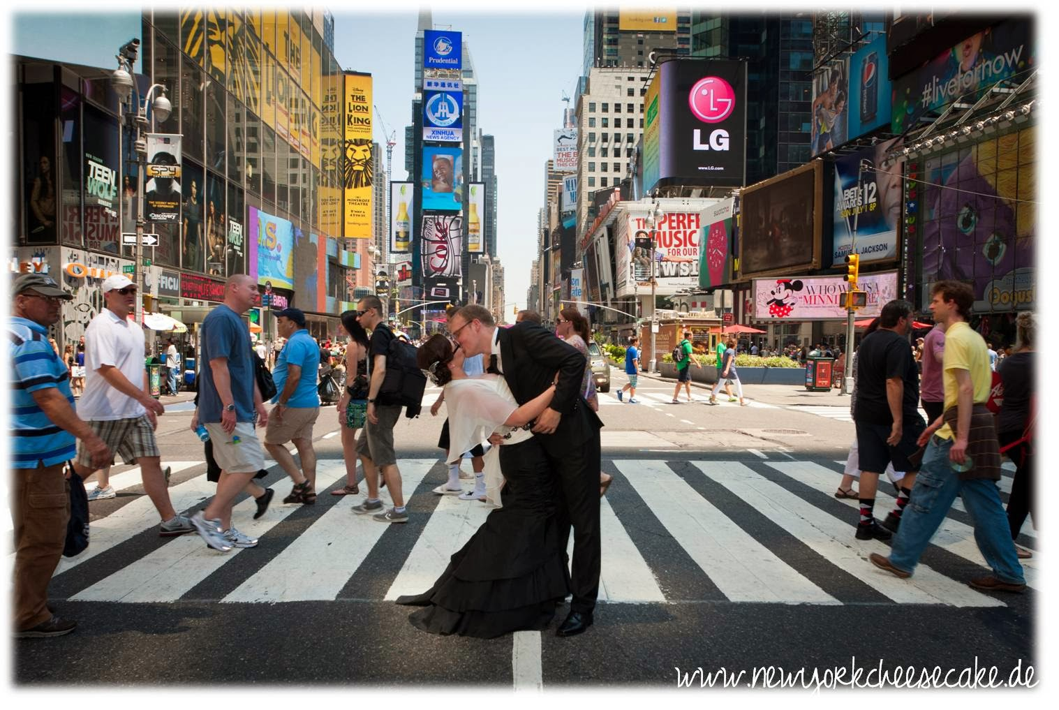 New York, heiraten, Times Square