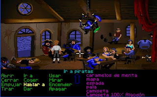 Bar de piratas.
