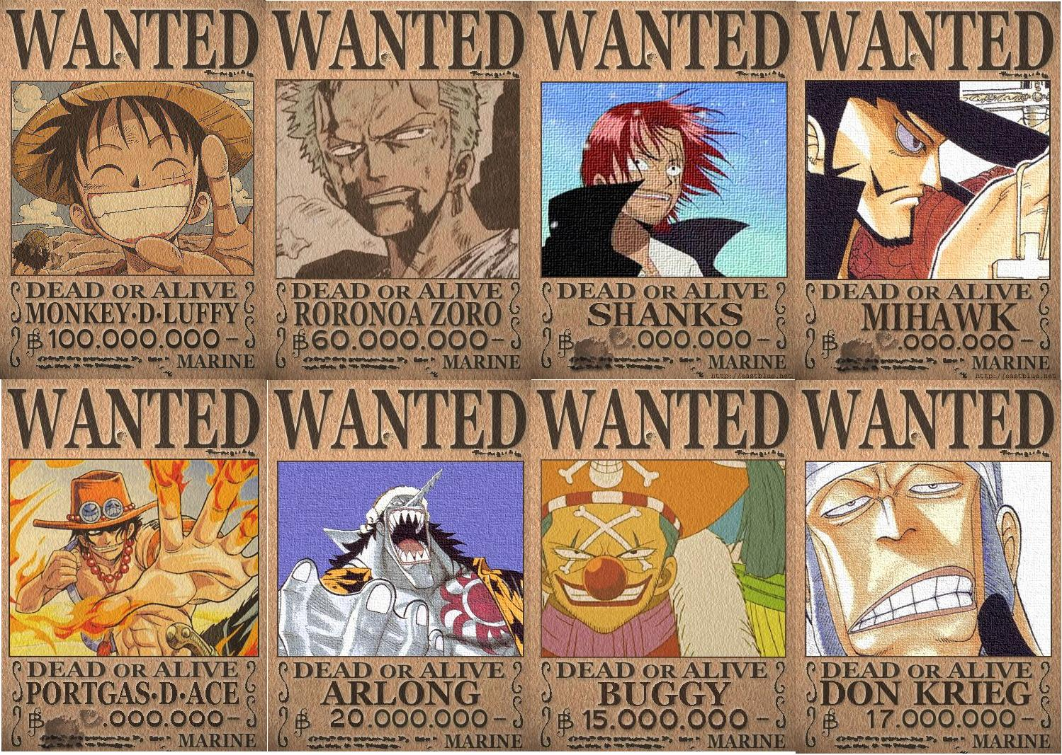 One Piece 15 Wanted by dq 001