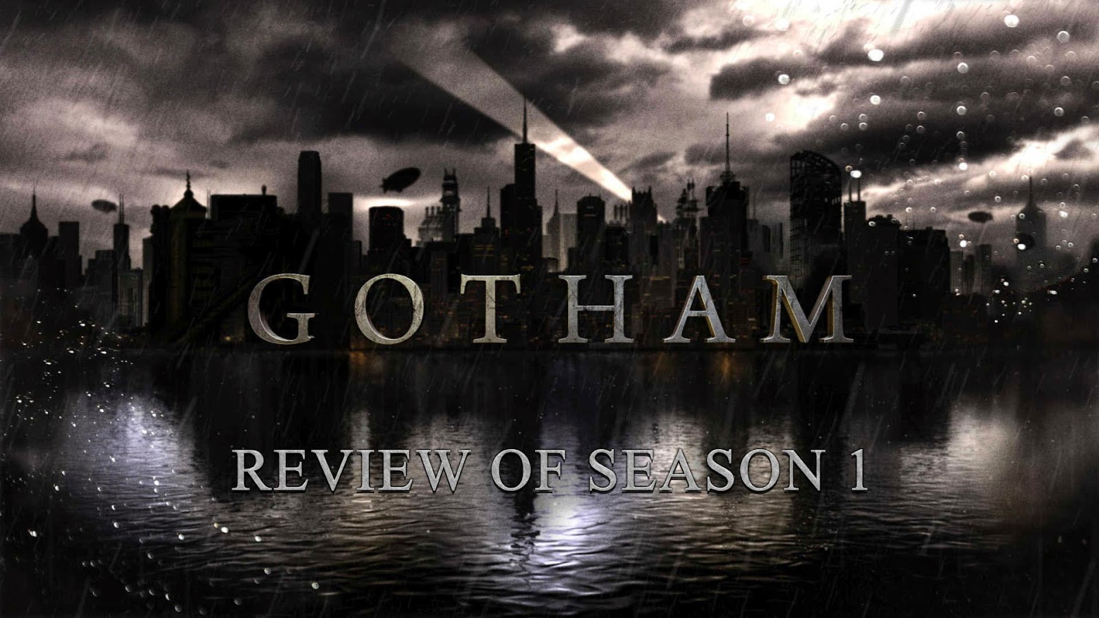 tv show review Gotham Season 1 podcast