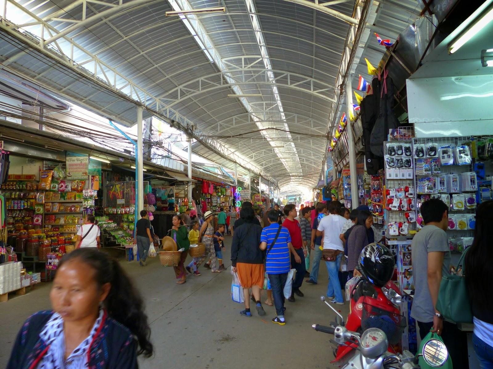 Mae Sai Border Area market area