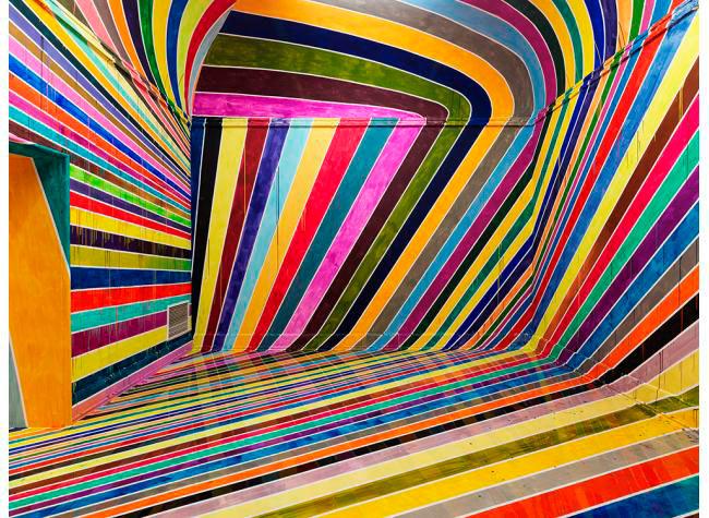 Markus Linnenbrink estrena desorientador cuarto del arco iris en Alemania