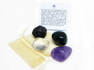 New Age FSG Crystal Meditation Pouch