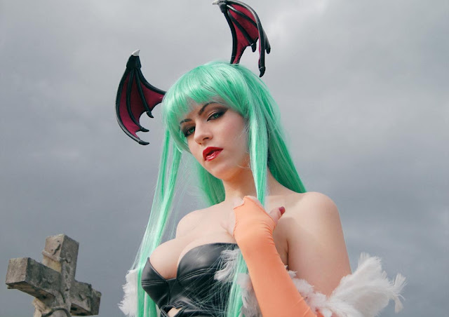 sexy morrigan costume